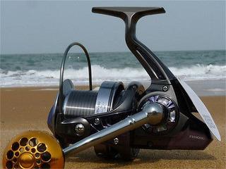 Fh Serie Largo Fundido Surf Agua Salada 13 + 1 Bb Spinning