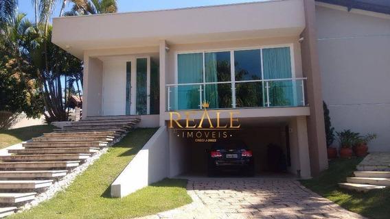 Casa Com 4 Dormitórios À Venda, 500 M² Por R$ 2.500.000,00 - Condomínio São Joaquim - Vinhedo/sp - Ca1260
