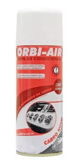 Limpa Ar Condicionado Automotivo Spray Higienização Orbi-air
