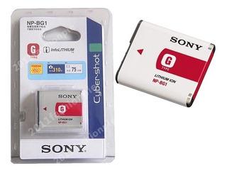 Batería Pila Recargable Original Sony Cibershot Np-bg1 Npbg1