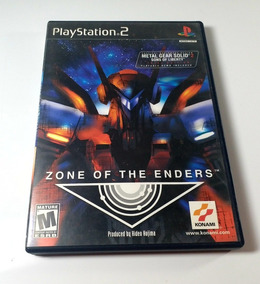 Jogo Zone Of The Enders Ps2 Original