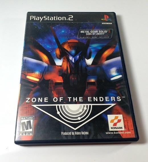 Jogo Zone Of The Enders Ps2 Original