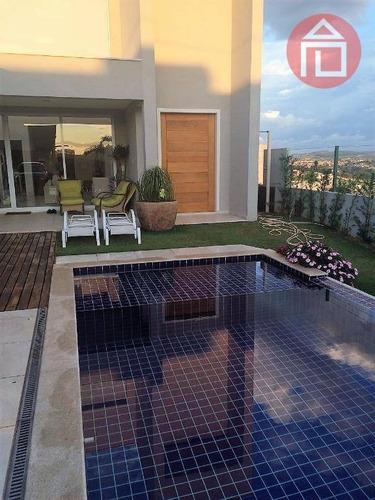 Imagem 1 de 11 de Casa Com 4 Dormitórios À Venda, 330 M² Por R$ 2.200.000,00 - Condomínio Vale Das Águas - Bragança Paulista/sp - Ca1448