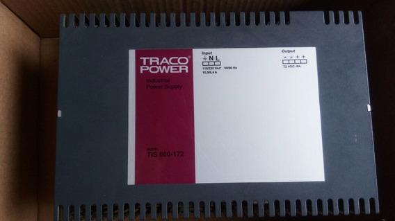 Fonte Chaveada 72vdc Traco Power Supply Tis 600-172