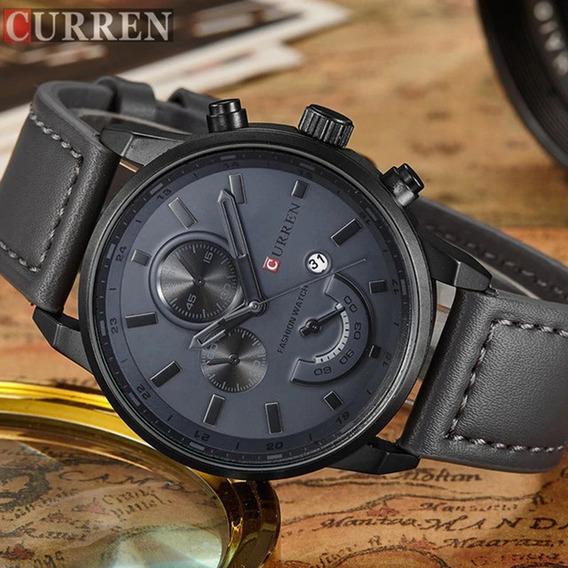 Relógio Curren Masculino Importado Original 8217 Nota Fiscal