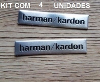 4 Emblema Harman Kardon Bmw Jaguar Volkswagen Audi Golf Polo