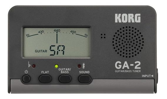 Afinador Compacto Korg Ga-2 Guitarra Baixo Violão