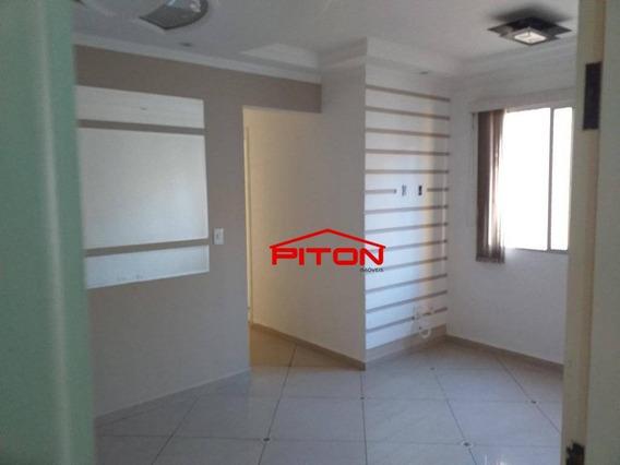 Apartamento Com 2 Dormitórios Para Alugar, 47 M² Por R$ 1.160,00/mês - Cangaíba - São Paulo/sp - Ap1924