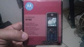 Celular Motorola W180 Rádio Fm Na Caixa Completo Sem Uso