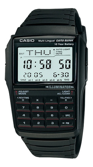 Casio Dbc 32-1 Relogio Databank Calculadora Alarme Nf Dbc32
