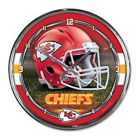 Reloj De Pared Kansas City Chiefs Original Nfl