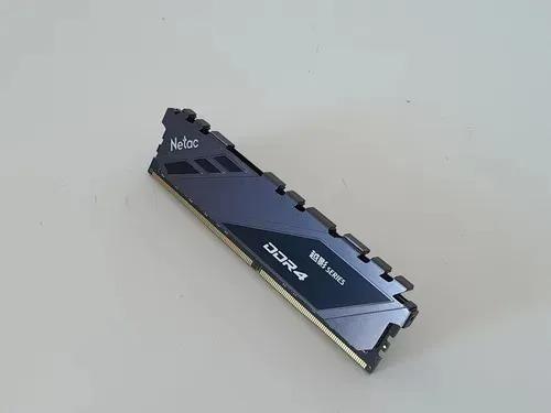 Imagem 1 de 3 de Memória Ram Ddr4 16gb Netac 3200 Mhz Mais Rápida Q Pny Epicx