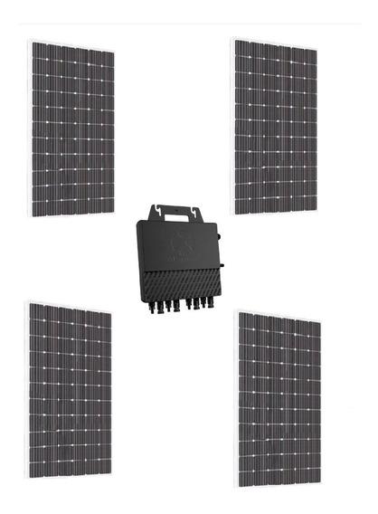 Planta Solar 1200w Inversor Qs1 Aps 4 Paneles Poly 335w