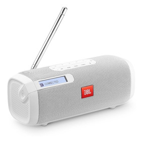 Rádio Jbl Tuner Fm 5w Bluetooth Sintonizador Digital Com Rds