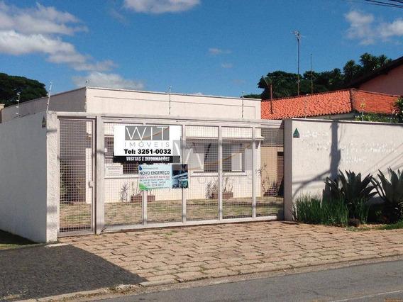 Casa Comercial Para Locação, Nova Campinas, Campinas. - Ca0006