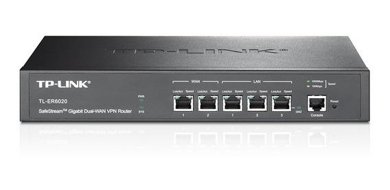 Roteador Gigabit Vpn Safestream 1p Lan/dmz Tl-er6020 Tp-link