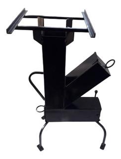 Cocina A Leña Rocket - Acero - Exterior