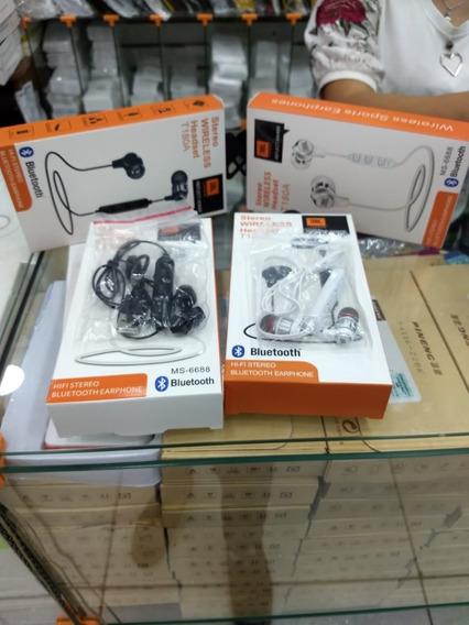 Fone De Ouvido Stereo Wireless Headset Via Bluetooth Sports