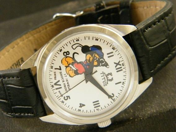 Relógio Titus Mickey Mouse Suíço