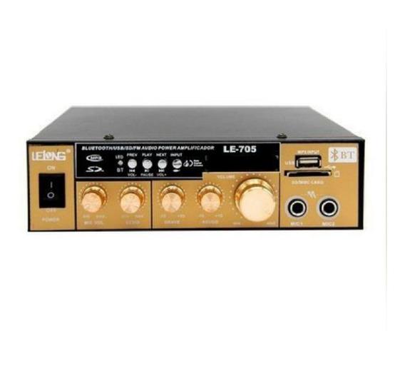 Pequeno Amplificador Audio Mini Bluetooth Usb Oferta Lelong