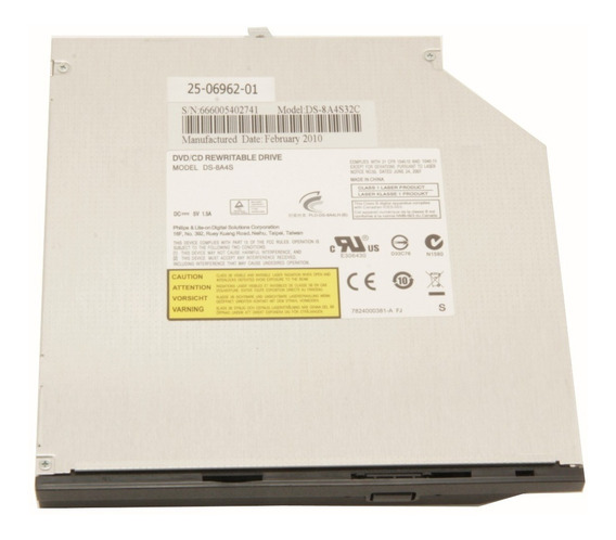 Itautec W7410 W7415 Ds-8a4s Gravador Dvd / Cd Philips Liteon