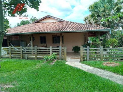 Chácara Com 2 Dormitórios À Venda, 2650 M² Por R$ 520.000 - Goiabal - Pindamonhangaba/sp - Ch0025