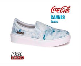 Coca Cola Shoes Cannes Jeans - Original - Ex