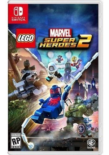 Lego Marvel Super Heroes 2 Switch Mídia Física Lacrado!