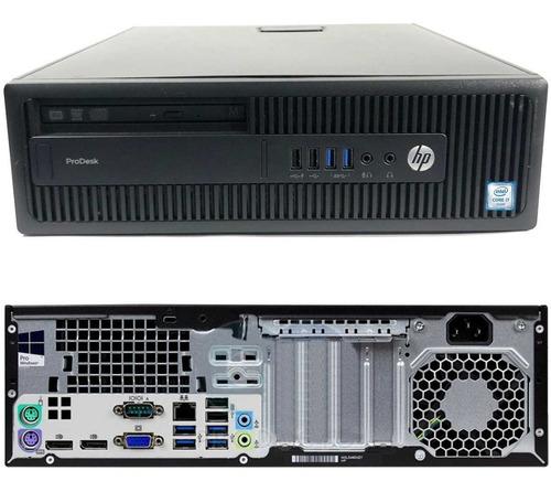 Pc Torre Compu Hp I7-6700 4.0ghz 16gb Ssd 512gb W10 Pro