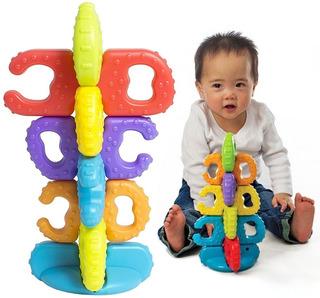 Toy Torre Apilable Bebe Encastre Playgro Cod 5485 Bigshop