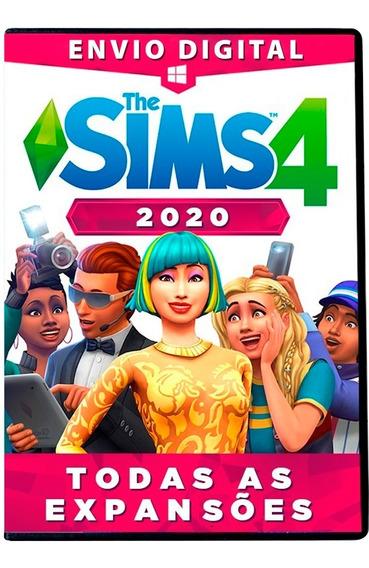 The Sims 4 Pc + Todas Expansões - Português - Digital 2020