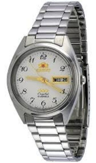 Reloj Orient Automat Cem0401vw9 Acero Doble Calendario Gar