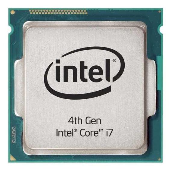 Processador gamer Intel Core i7-4790 BX80646I74790 de 4 núcleos e 4GHz de frequência com gráfica integrada