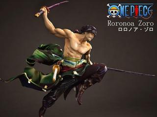 One Piece Zorro Cgtrader Stl Para Impresión 3d
