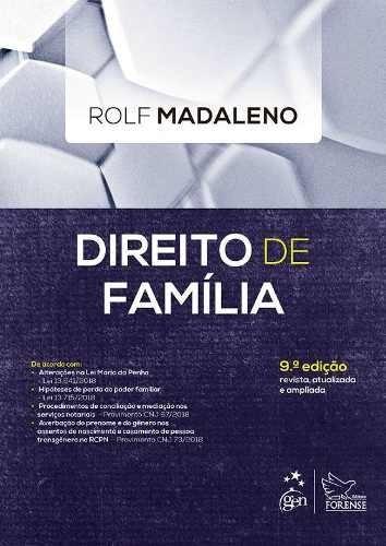 Livro - Direito De Família, 9ª Edição - Rolf Madaleno