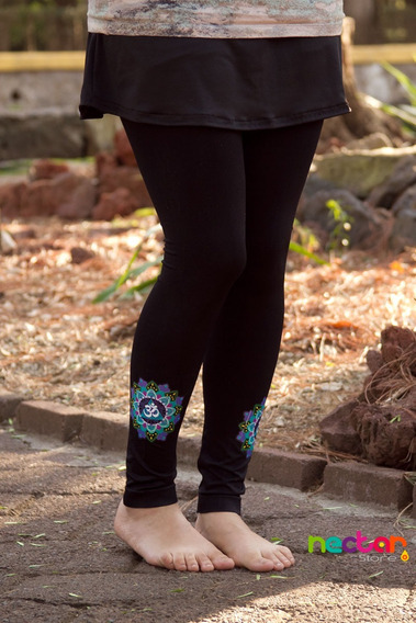 Leggings Mallónes Para Mujer De Algodón Tr057 Mandala