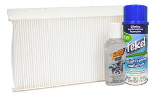 Kit Desinfectante Y Filtro De Cabina Focus 00-05 2.0