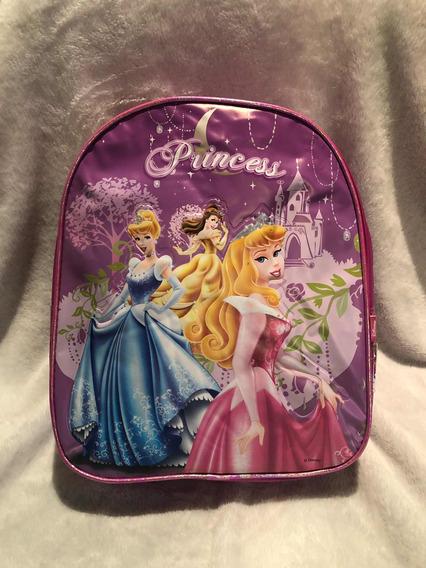 Mochila Jardin Tinkerbell Y Princesas Original!! Oferta