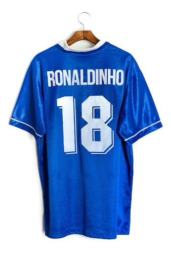 Camisa De Futebol Seleção Brasileira 1996 Umbro Ronaldinho