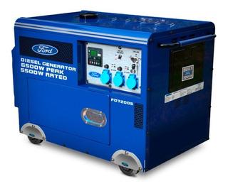 Grupo Electrógeno Generador Ford Diesel Potencia 6500w
