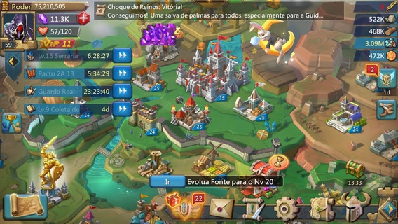 Lords Mobile 75m Codigo