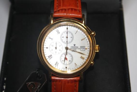 Relógio Croton Chronomaster - De Coleção