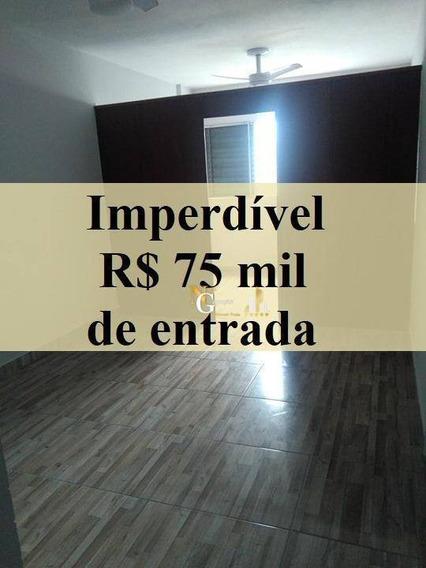 Kit De 1 Dormitório Por R$ 118.000 - Mirim - Praia Grande/sp - Kn0195