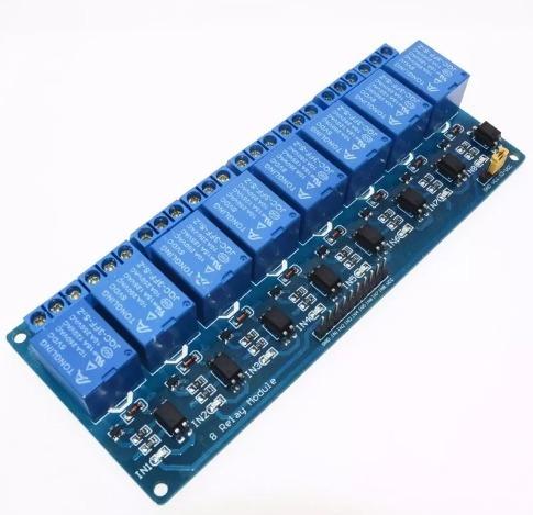 Relé Modulo 8 Canais 5v Shield Arduino