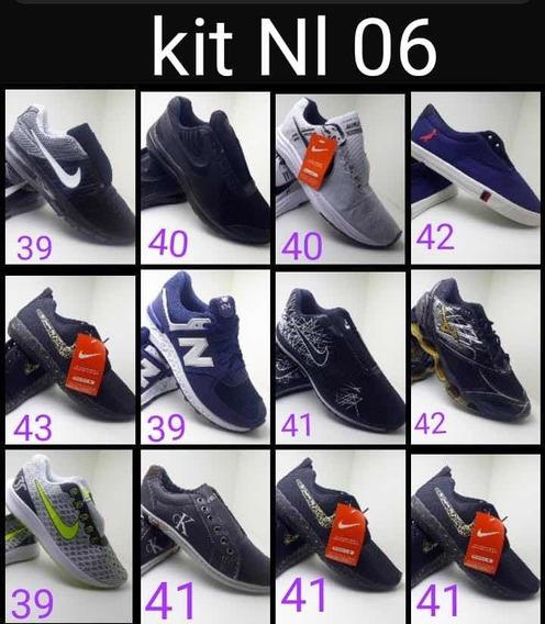 Kit Com 12 Calçados Promoção