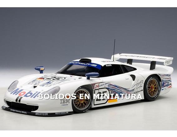 Porsche 911 Gt1 24hrs Le Mans 1997 #25 - Autoart 1/18