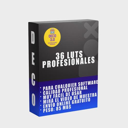36 Filtros Luts Para Todos Los Software Edición De Video