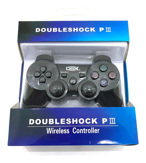 Controle Joystick Bluetooth Playstation3 Dualshock Ps3 Xc-03