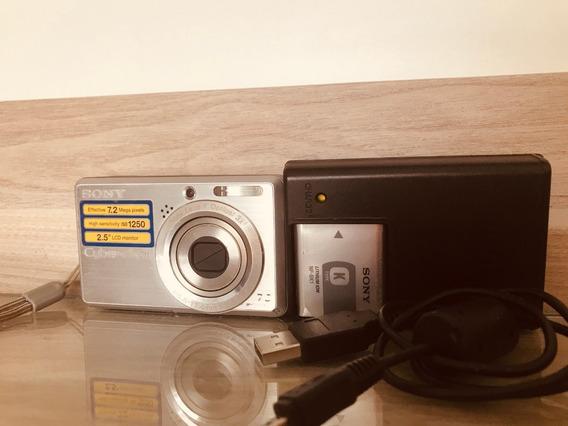 Camera Digital Sony Cybershot 7.2 Mega Pixels