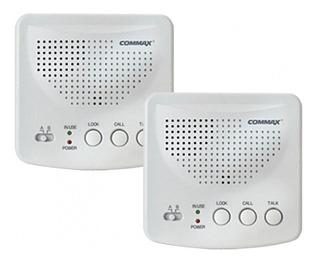 Intercomunicador Inalambrico Commax Onda Portadora Baby Call